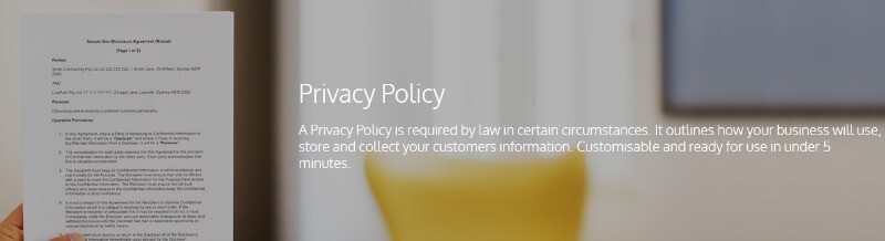 Create a Privacy Policy For Your Website In Minutes for FREE