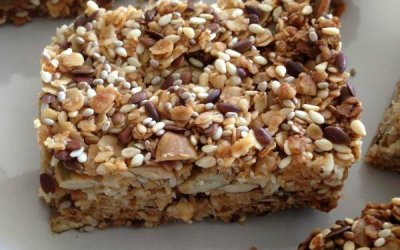 Seedy Oat Bars Recipe