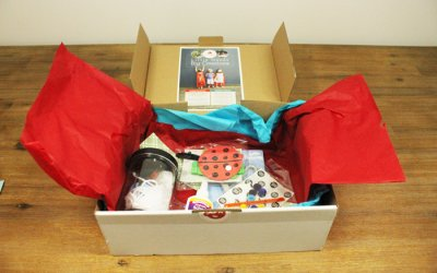WAHM Review – Peeky Me Subscription Craft Box