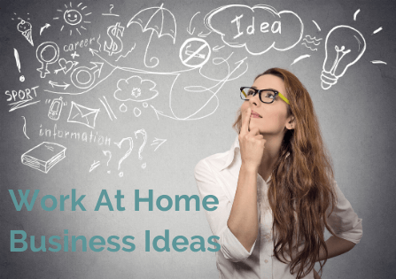 business ideas to work at home